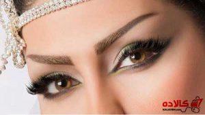 رنگ چشم سبز و قهوه ای